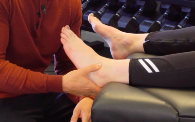 Quick Changes In Ankle Mobility